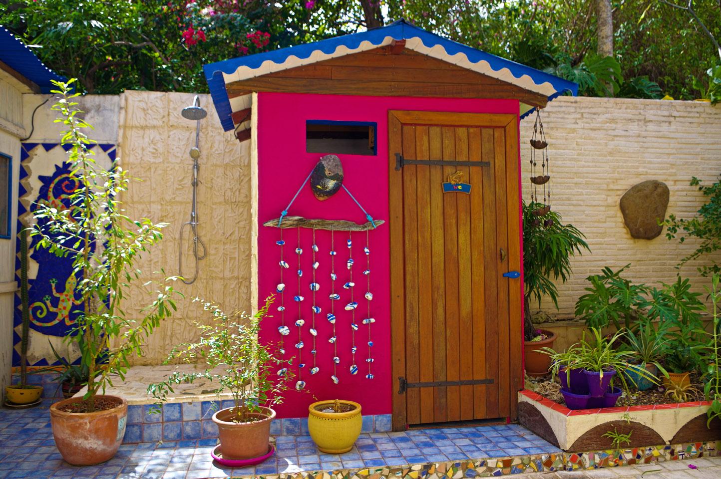 Petite case a toilette
